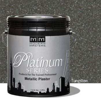 Plaster, Metallic  ~ Tungsten/One Gallon