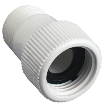 "PVC Hose to Pipe Fitting ~  3/4"" MIP x 3/4"" FH"