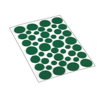 Shepherd  Felt Pads, Green - Assorted Sizes