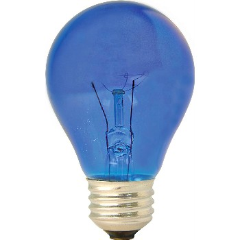 Party Light Bulb, 25w ~~ Blue
