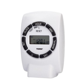 Seven (7) Day Indoor Plug-In Digital Timer