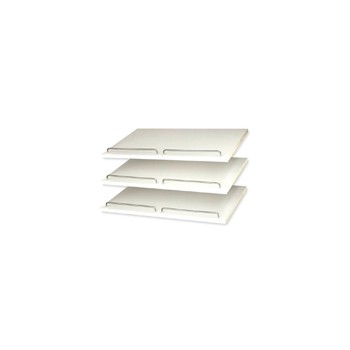 Shoe Shelf, White, 3 inch