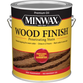Minwax 71007 Wood Finish, Red Mahogany ~ Gallon