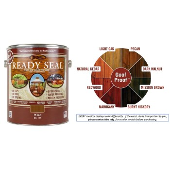 Ready Seal Wood Stain & Sealant, Pecan ~ Gallon