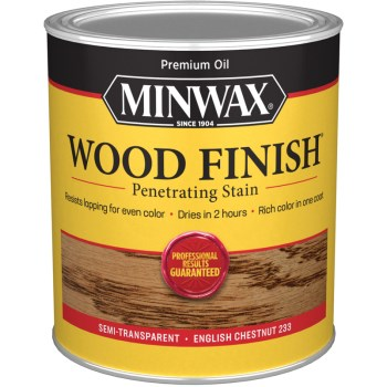 Wood Finish ~ English Chestnut,  Quart
