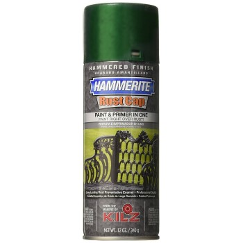 Hammerite Metal Finish, Dark Green ~ Spray