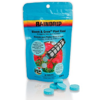 Plant Food, Bloom & Grow - 30 Tablets/Bag