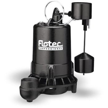 Pro Series Sump Pump, Submersible ~ 3/4 HP