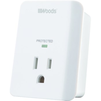 Woods Brand 1 Outlet Appliance Surge Protector