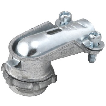 Squeeze Connector, 90 Degree Flex 1/2 inch