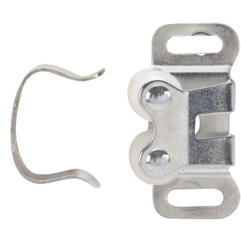 Cabinet Roller Catch, Chrome