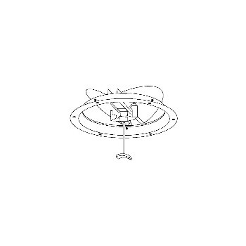 Hart & Cooley 1800B6 Round Ceiling Damper, 6 inch