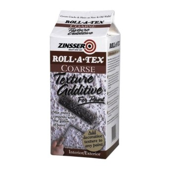 Rust-Oleum 22234 Roll-A-Tex Texture Additive for Paint, Coarse ~ 1 lb