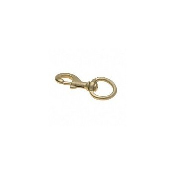 Swivel Round Eye Snap - 3/8 inch