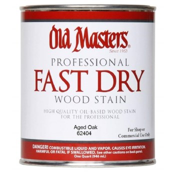 Fast Dry Wood Stain, Aged Oak ~ Quart