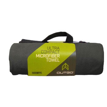 Microfiber Towel, 20 x 40 in., Moss