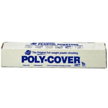 Polyethylene Sheeting, Clear - 3' x 200' x 6mil