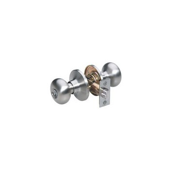 Entry Lock, Satin Nickel