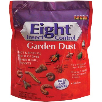 Eight Garden Dust, Insect Control ~ 3 Lb.