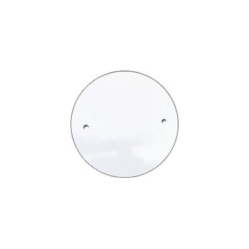 Outlet Cover - Blank - White Finish