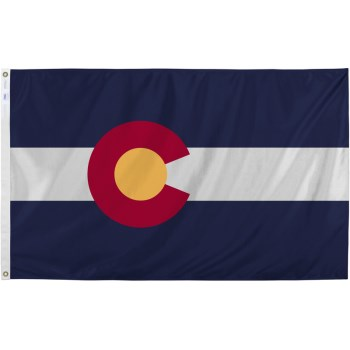 3ft. X5ft. Colorado Flag