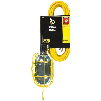 Coleman Cable 2893 Work Light - 25 foot cord