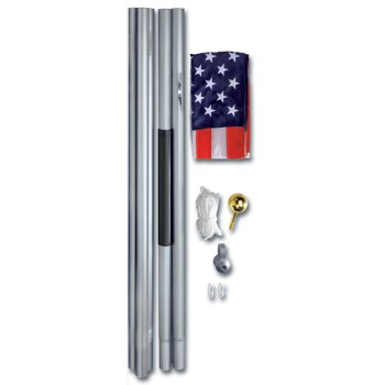 20ft. Flag Pole W/ Flag