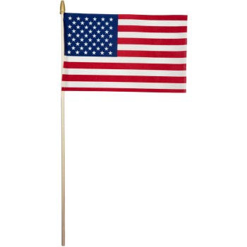 8in. X12in. Us Stick Flag