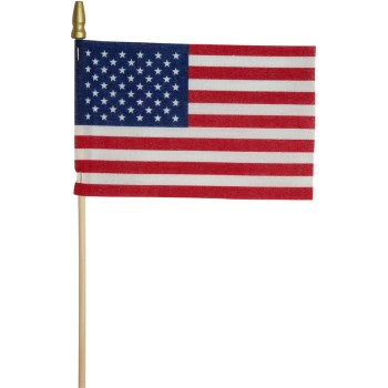 4in. X6in. Us Stick Flag
