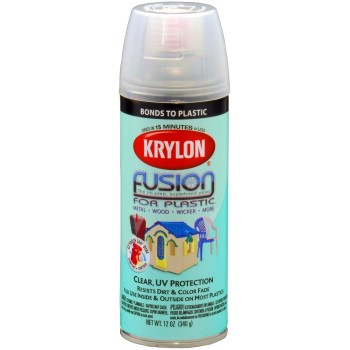 Fusion Plastic Paint, Clear Gloss ~ 12oz
