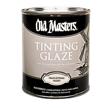 Tinting Glaze, Neutral Base/Satin  ~ Gallon