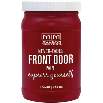 Express Yourlself Front Door Satin Paint, Passion ~ Quart