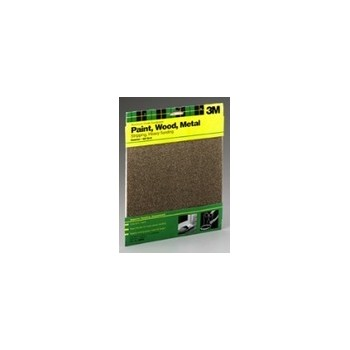 3M 051144090037 Sandpaper - Coarse - 5 pack