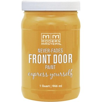 Express Yourself Front Door Satin Paint, Confident ~ Quart