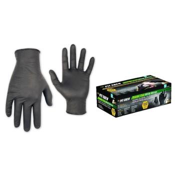 CLC 2337XL Non-Powdered Disposable Nitrile Gloves,  Black  ~ X-Large