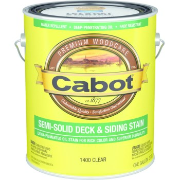 Decking Stain, Clear ~ Gallon