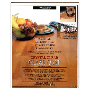 Famowood Glaze Coat, Clear ~ Gallon