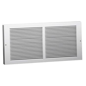 "Baseboard Grille, White - 6"" x 14"""