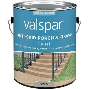 Porch & Floor Anti-Skid Coating, Gray ~ Gallon