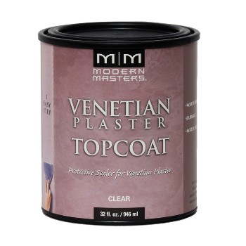 Venetian Plaster ~ Topcoat Clear Satin ~ One Quart