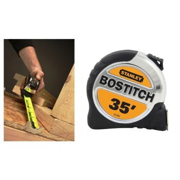 "Tape Measure, Bi - Material ~ 1  1/4"" x 35 ft."
