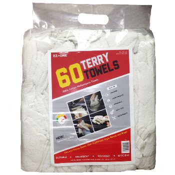 60 Pk Terry Towels