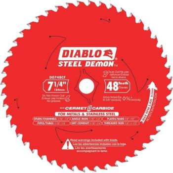 Freud/Diablo D0748CFX 7-1/4 48t Metal Blade
