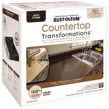 Rust-Oleum 258283 Countertop Transformations Kit,  Java ~ 50 Sq Ft