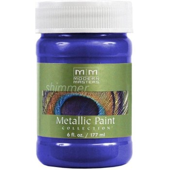 Metallic Paint, Venetian Blue 6 Ounce