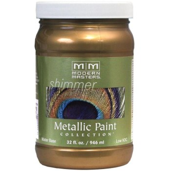 Metallic Paint, Blackened Bronze 32 Ounce