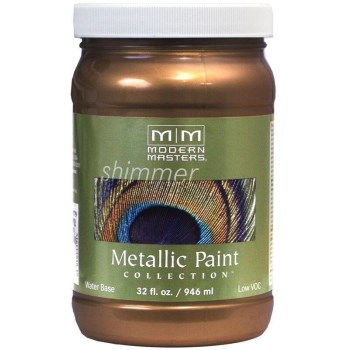 Metallic Paint, Statuary Bronze 32 Ounce