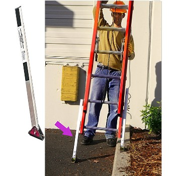 Level-Master Auto Ladder Levelers w/Swivel Feet