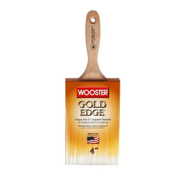 Gold Edge Series Wall Brush ~ 4""