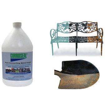 Rodda Paint  82331 Corroseal Rust Converter Metal Primer ~ Gallon